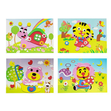 ABMS005 High Quality Kids Gift Crafts DIY Eva Mosaic Sticker