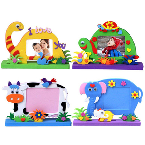 Wholesale Fashion Foam Photo Frame Peel And Stick Crafts for Kids ABdpf05