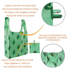 AB875 Eco-friendly Nylon Waterproof And Foldable Reusable Shopping Bag
