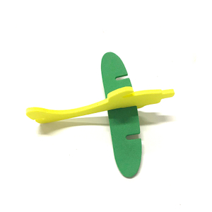 Hot Sale Educational Toy DIY EVA Foam Puzzle Plane for Children ABPP005