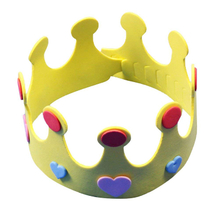 Crown Shape Eva Foam Birthday Hat