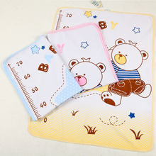 Soft Eco-friendly Baby Portable Waterproof Cartoon Bear Diaper Urine Pad